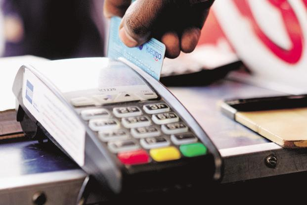 Value of debit and credit card transactions at PoS devices rose by 2.3% in May to Rs441.2 billion from Rs431.4 billion in the previous month. Photo: Mint