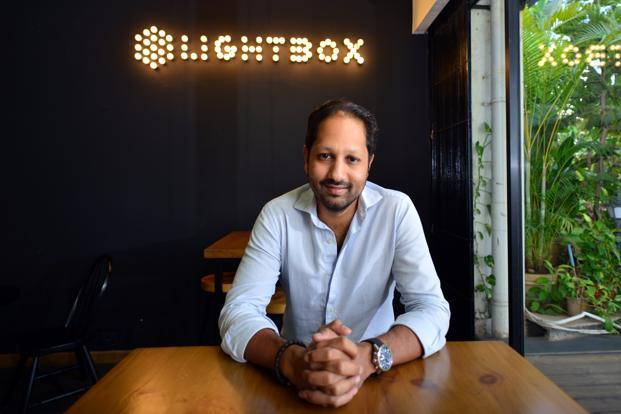 Sandeep Murthy, partner at Lightbox. The venture capital firm's India investments include start-ups such as Faasos, Droom and Furlenco. Photo: Aniruddha Chowdhury/Mint