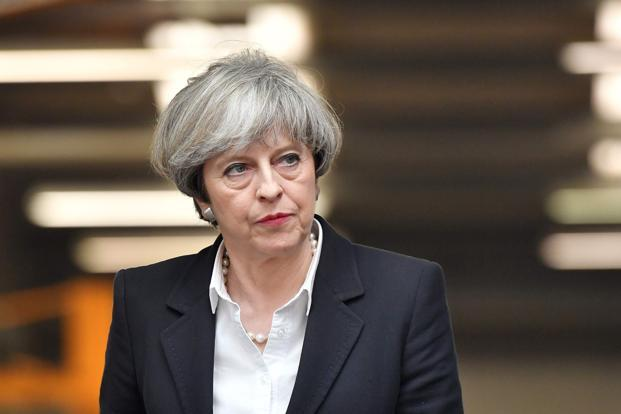 Theresa May's main rationale for calling snap elections was to give the government a strong mandate for Brexit negotiations. Photo: AFP