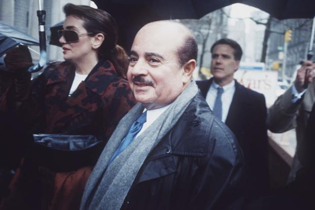 Arms dealer Adnan Khashoggi was at one time estimated to be worth £2.4 billion but ran into financial difficulties and had to sell his private DC9 airliner and his yacht, Nabila. Photo: AP