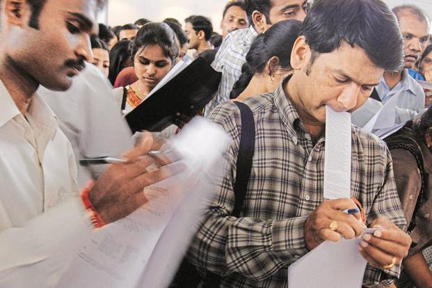 After November 2016, the job market deteriorated as a result of demonetisation and, as the latest RBI survey results show, it is yet to recover from that blow. Photo: AP