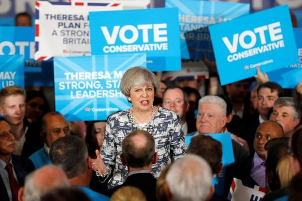 Voting begins in Britain's snap elections