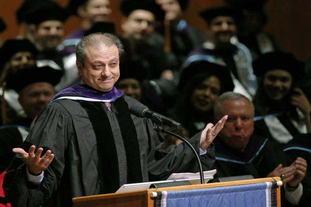 A file photo of Preet Bharara. Photo: AP