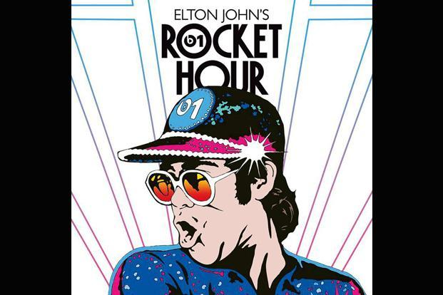 Elton John's 'Rocket Hour' is a popular show on Apple Music's Beats 1 Radio that features interviews and plays a mix of old and new music.