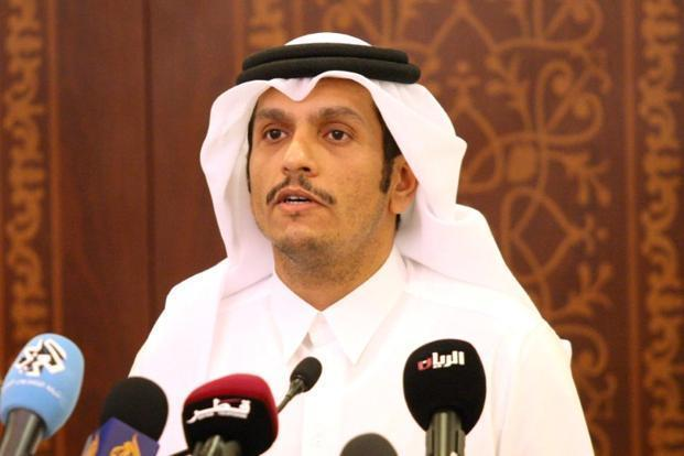 A file photo of Qatar's foreign minister Sheikh Mohammed bin Abdulrahman al-Thani. Photo: Reuters