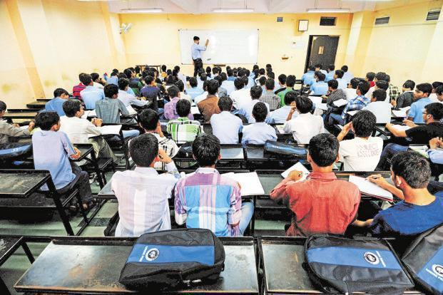 This year's JEE Advanced exam was conducted by IIT Madras. Photo: Pradeep Gaur/Mint