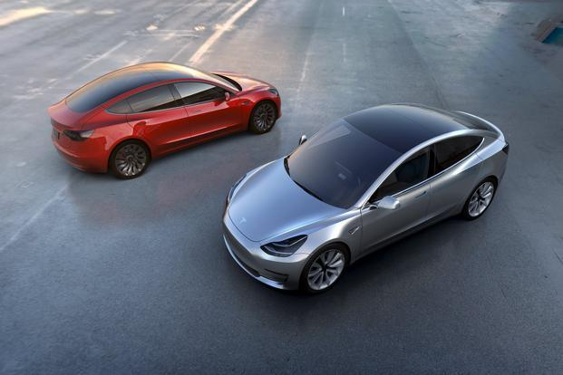 Tesla founder Elon Musk engendered optimism this week by telling shareholders his most affordable electric car thus far, the Model 3, will start production as scheduled in July. Photo: Reuters
