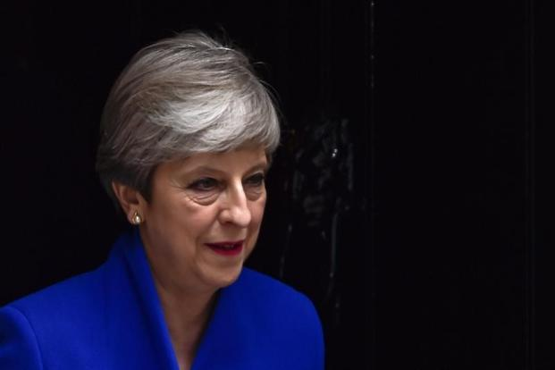 Theresa May has said she intends to stay on as PM despite failing to win a Conservative majority in the UK elections. Photo: Hannah Mckay/Reuters
