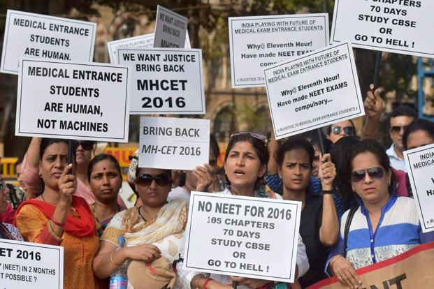 The Supreme Court also requested high courts to not entertain petitions on matters relating to NEET 2017. Photo: PTI