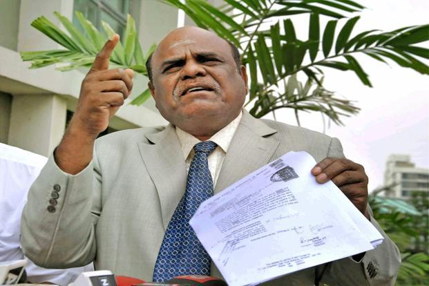 Controversial Calcutta HC judge Justice CS Karnan retires