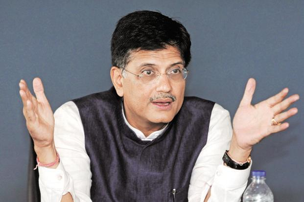 File photo. Piyush Goyal said the resolution will cover stressed assets where promoters are not wilful defaulters and where there are no irregularities. Photo: Sonu Mehta/HT