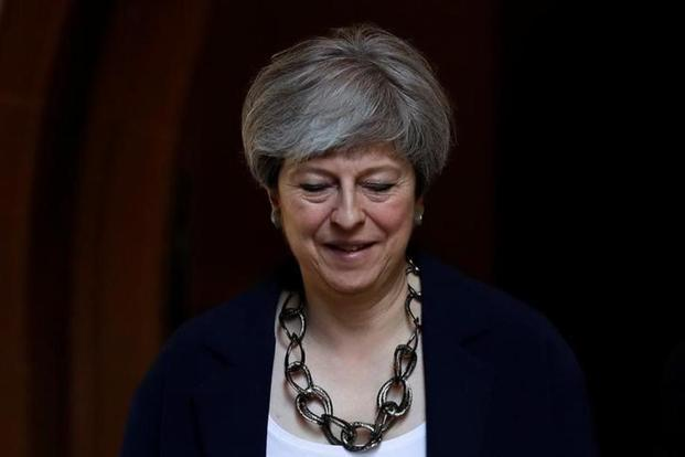 The mood in Westminster remains that UK Prime Minister Theresa May is on borrowed time, with the question only when rather than if she will be deposed. Photo: Reuters