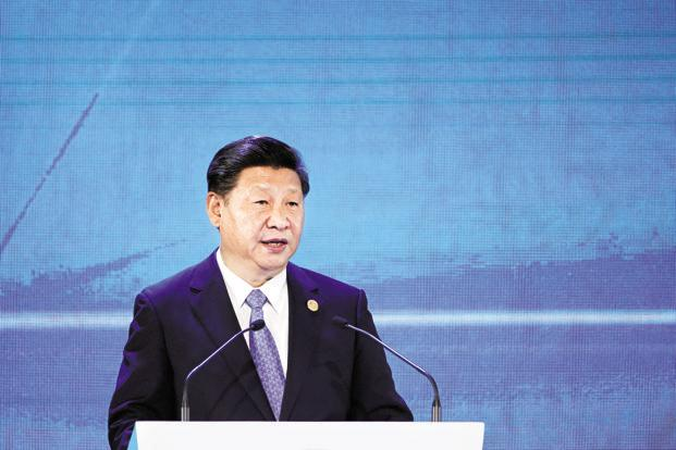 At Davos earlier this year, Chinese President Xi Jinping made a speech that was a manifesto for China's global leadership. Photo: Bloomberg