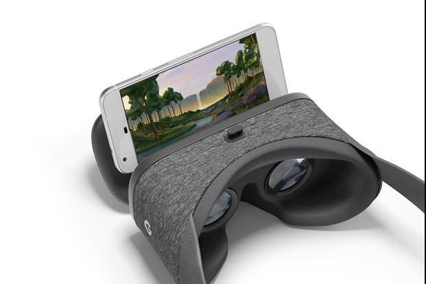 The Daydream hardware includes a headset called Daydream View, a motion controller for navigating the apps and support for a wide range of Android phones.