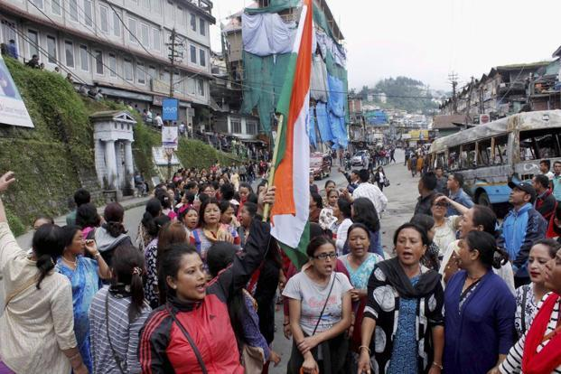 Six parties adopt resolution for separate Gorkhaland state