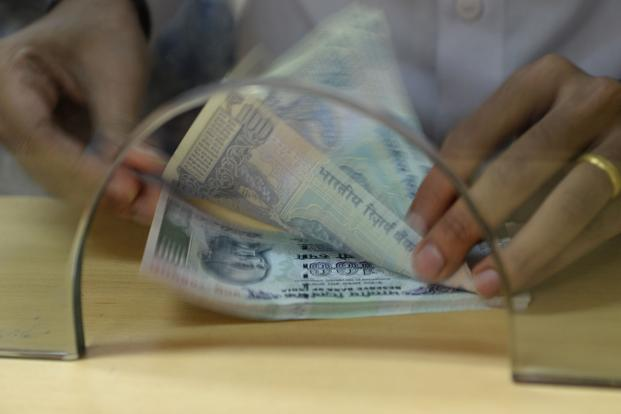 Indian banks are sitting on a stressed asset pile of around Rs10 trillion. Photo: AFP