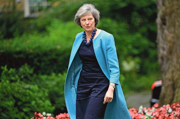 Theresa May was appointed Prime Minister by the Conservatives in an act akin to coronation last July, after David Cameron fell on his sword after his gamble—the EU referendum—failed spectacularly. Photo: AFP