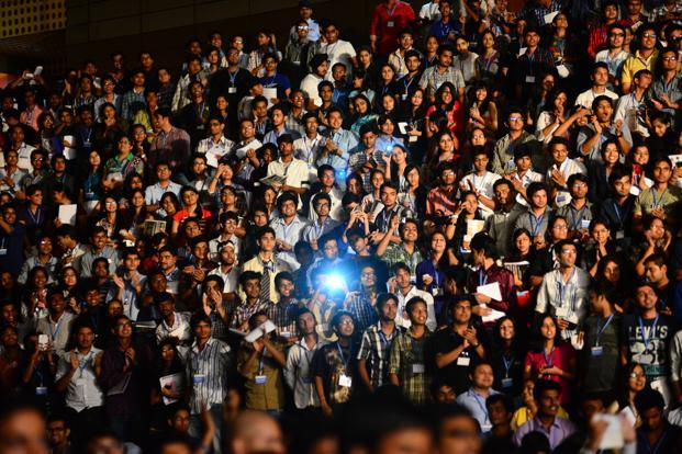 As spending commitments grow, there will be fewer productive adults around to fund them. Photo: Pradeep Gaur/Mint