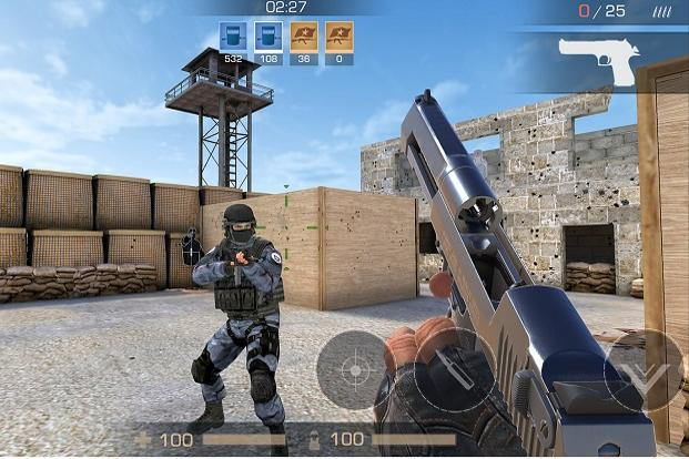 Standoff 2 is a multiplayer shooting game with a lot of similarities to the popular PC game Counter Strike.