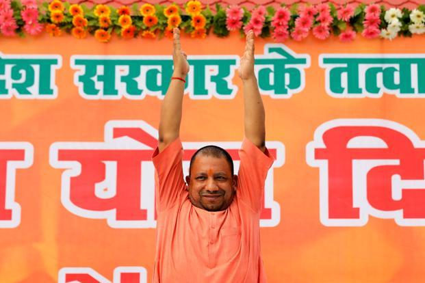 A file photo of Uttar Pradesh chief minister Yogi Adityanath. Photo: Reuters