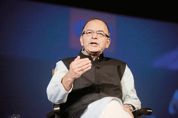 FM Arun Jaitley's had in his budget speech said the government intends to put in place a comprehensive resolution framework to tackle any potential crises in financial companies. Photo: Abhijit Bhatlekar/Mint