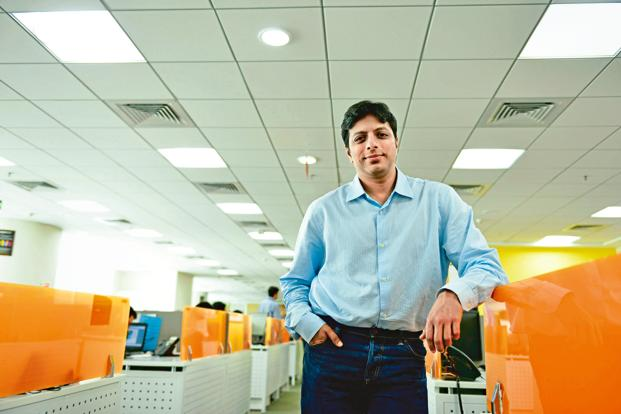 Amazon India head Amit Agarwal. The e-commerce firm's planned digital payments service has already received RBI approval. Photo: Hemant Mishra/Mint
