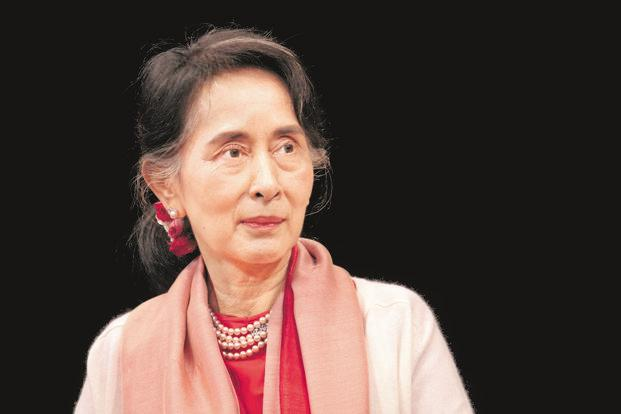 During his speech, OFF's founder Thor Halvorssen noted how 'profoundly heartbreaking' it was that Burmese leader Aung San Suu Kyi (above) has been silent on the plight of the Rohingya, a Muslim minority that is being systematically oppressed by Buddhist extremists and the Burmese government. File photo: Reuters