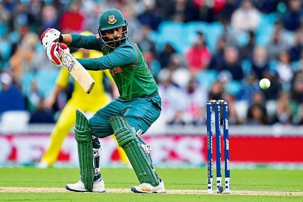 Bangladesh's Tamim Iqbal is the tournament's third highest scorer so far, with 223 runs from three matches. Photo: AFP.