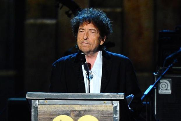 Bob Dylan won the 2016 Nobel Prize in literature. Photo: AP