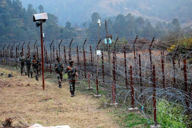 Representative image. There have been eight ceasefire violation in the past four days. Photo: PTI