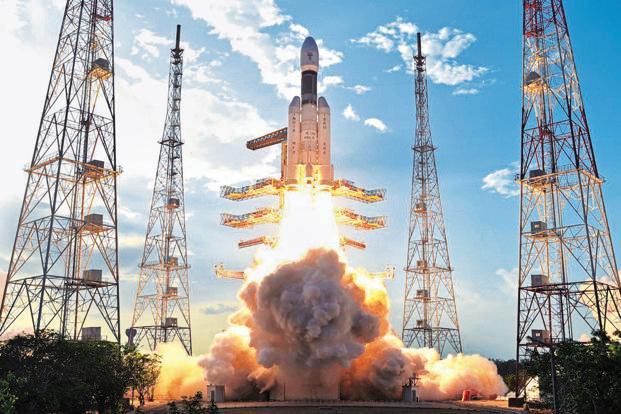India launched its heaviest and most powerful rocket, GSLV Mark III, developed entirely at home, on 5 June. Photo: PTI