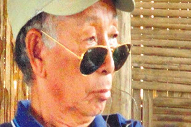 S.S. Khaplang, chairman of a Myanmar-based faction of National Socialist Council of Nagaland, or NSCN (K) died on 9 June. Photo: HT