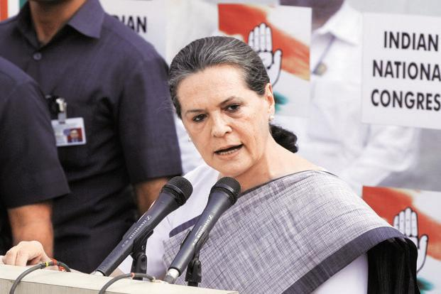 BJP's efforts to meet Sonia Gandhi is a departure from the playbook the party has used so far. Photo: HT
