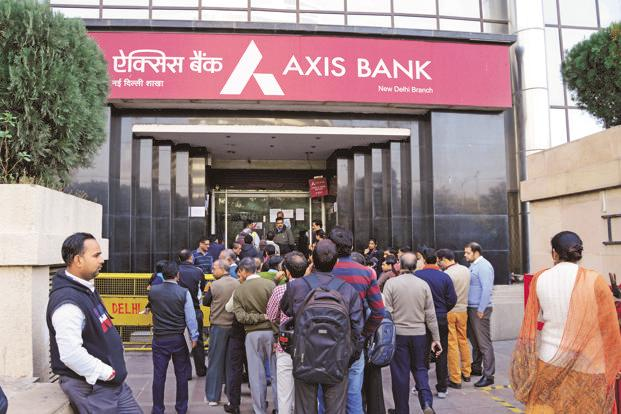 At the end of March 2017, Axis Bank's capital adequacy ratio was at 14.95%, well above the minimum regulatory requirement of 10.25%. Photo: Mint