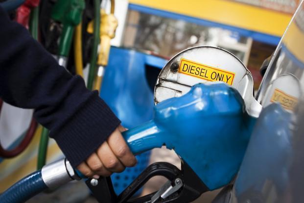 Blending 5% of biodiesel with diesel and 10% ethanol with petrol can expand the biofuel market to Rs50,000 crore by 2022 from about Rs6,500 crore currently. Photo: Bloomberg