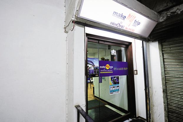 MakeMyTrip, the largest online travel agent (OTA) in India, commands a market share of 41% in the online travel space, according to the Deutsche Bank report. Photo: Ramesh Pathania/Mint