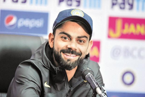 Ahead of Sunday's final match, Team India skipper Virat Kohli was all praise for Pakistan team's turnaround in the ICC Champions Trophy 2017. Photo: AFP