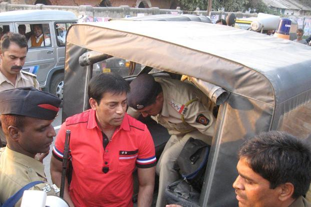 A file photo of gangster Abu Salem who has been pronounced guilty by a TADA court on Friday in the 1993 Mumbai serial blast case. Photo: Hindustan Times