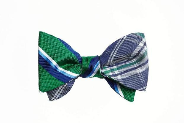 Reversible bow ties from Brooks Brothers.