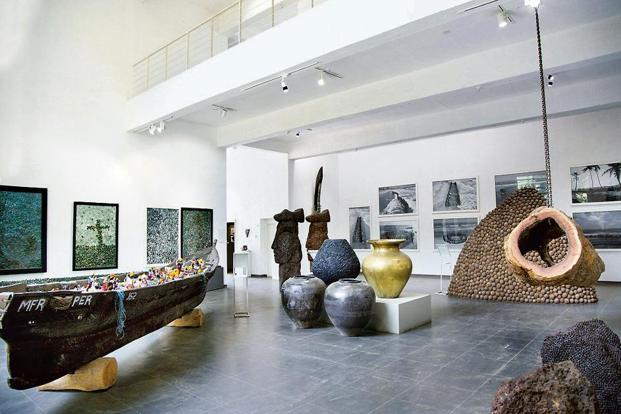 One of the exhibition spaces. Photo: Midhun Mohan.