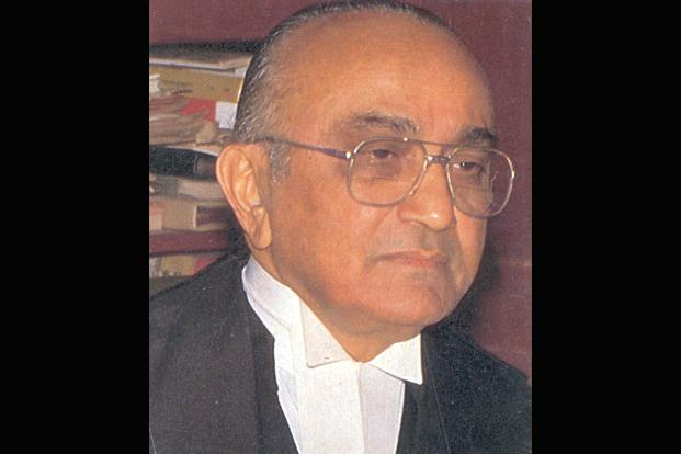 Justice PN Bhagwati was India's chief justice from July 1985 to December 1986. Photo: HT