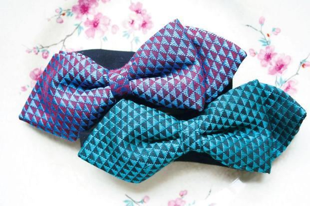 A selection of bow ties from Amit Kekre's wardrobe