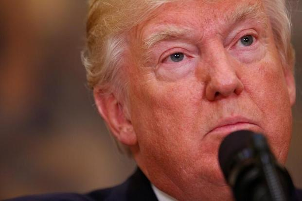 "On Thursday, Donald Trump had blasted reports that he is under criminal investigation as a ""witch-hunt"" against him led by some ""very bad"" people. Photo: Reuters"