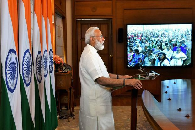 A file photo of Narendra Modi. Indian Prime Minister's US visit comes in the backdrop of Trump's announcement to withdraw the US from the historic Paris Climate Agreement signed by over 190 other countries.