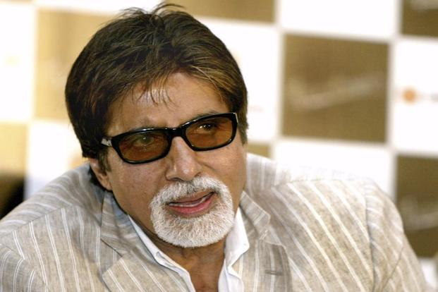 Government ropes in 74-year-old Amitabh Bachchan to promote GST. Photo: AP
