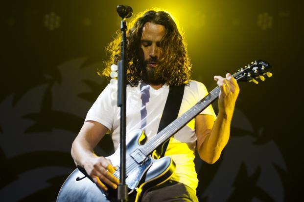 Soundgarden vocalist and guitarist Chris Cornell. Photo: Reuters