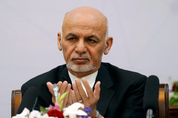 Afghan President Ashraf Ghani inaugurated the air corridor—a direct route that bypasses Pakistan and is meant to improve commerce. Photo: Reuters