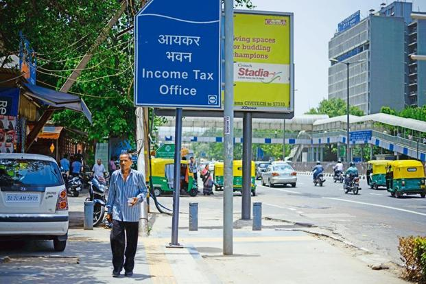 The income tax department has now the rate of interest to be applied for computing the income in case of failure to repatriate it within the prescribed time-limit. Photo: Pradeep Gaur/ Mint
