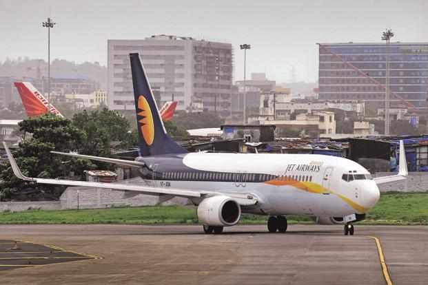 A file photo. The Jet Airways flight 9W 569 resumed its onward journey to Kochi and reached its destination at 12.45 pm after a delay of 90 minutes. Photo: Mint