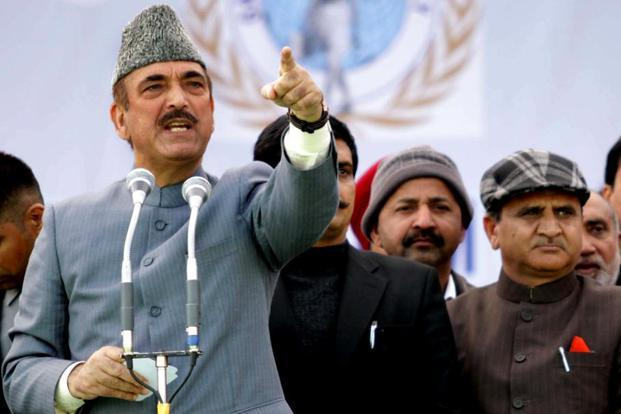 Terming BJP's efforts to reach out to the opposition as a 'formality and a PR exercise', Ghulam Nabi Azad said the ruling party should have built consensus before announcing the candidate. Photo: HT